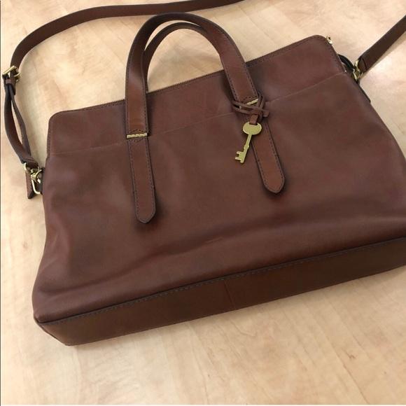 7b11d38d2973 Fossil Handbags - Fossil Bridgitte laptop bag